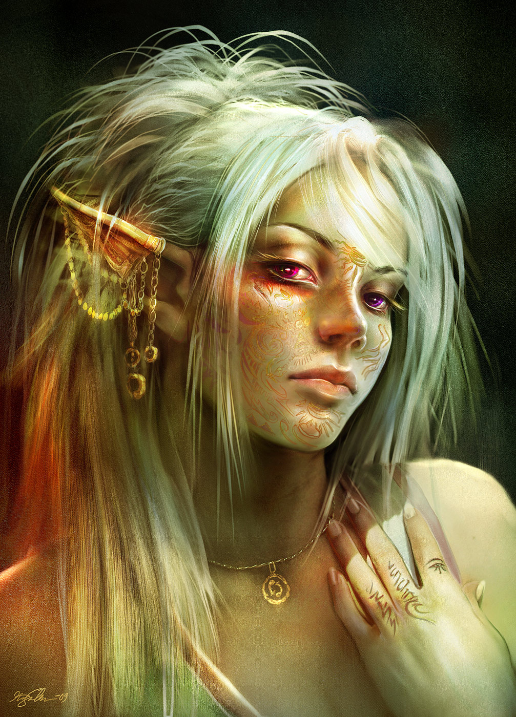 Human gnom elf elf female pron photos