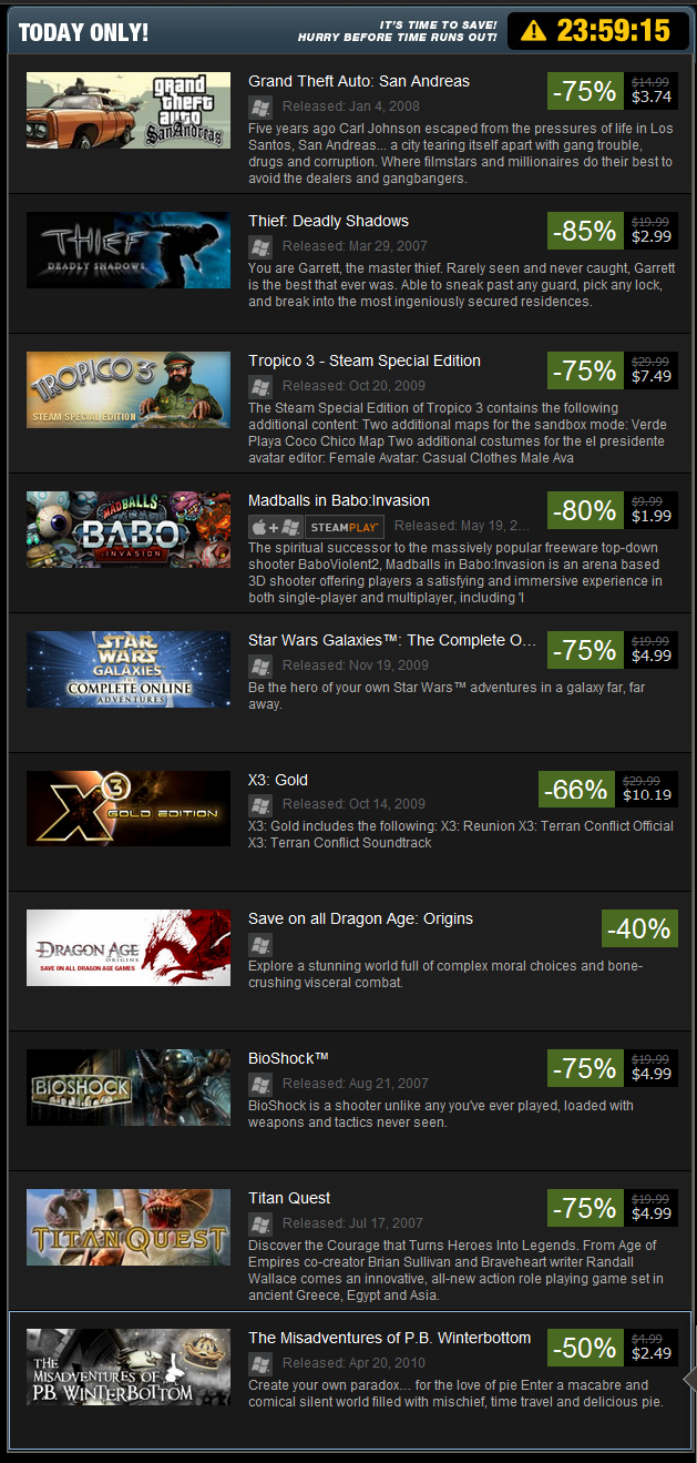 qalbert games down price quick though pretty bethesdazenimax tend wasnt first year good dishonored seen deals thread have that code steam sale with seems