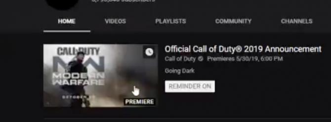 Call of Duty 2019: Modern Warfare 4 - October 25, 2019