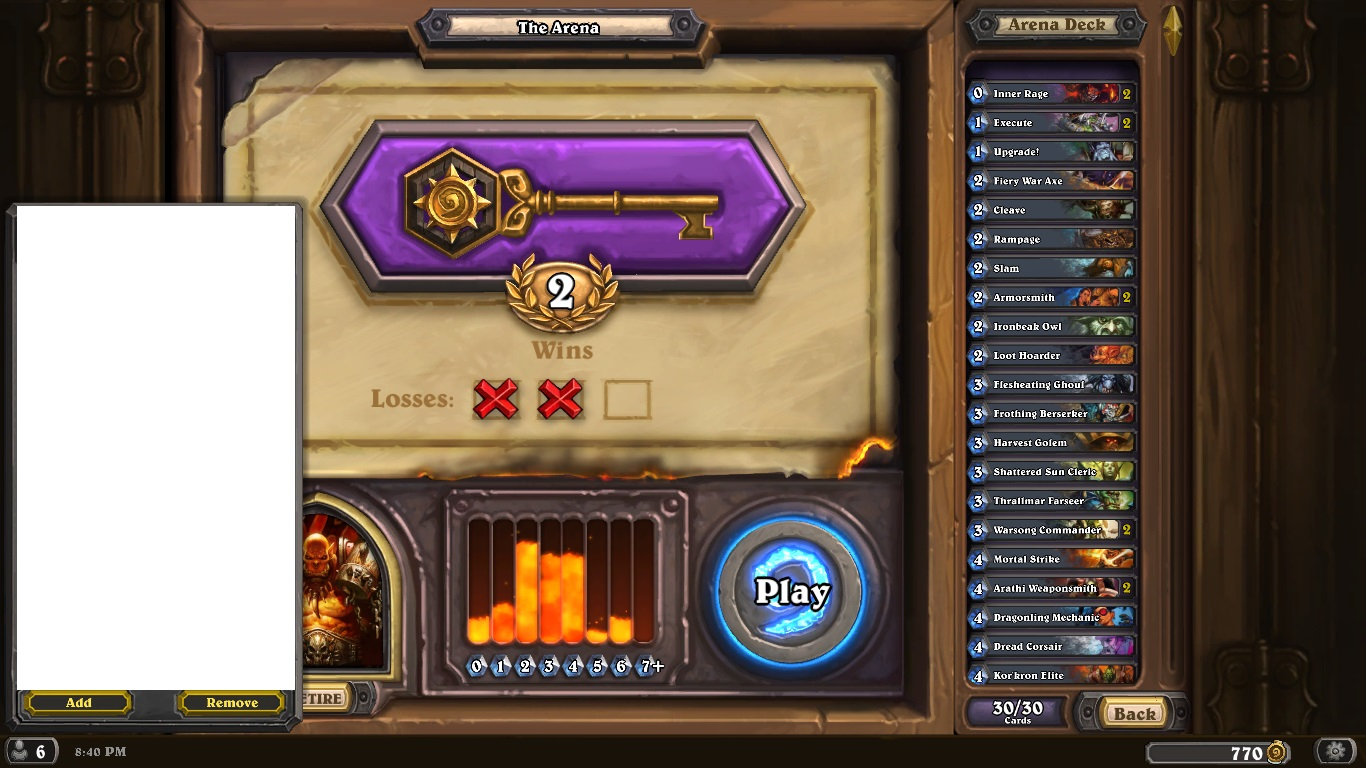 plow games easy super with cheese decks heroic beating naxx here brag about hearthstone