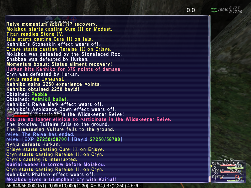 nynja ffxi speak without fail leader your random