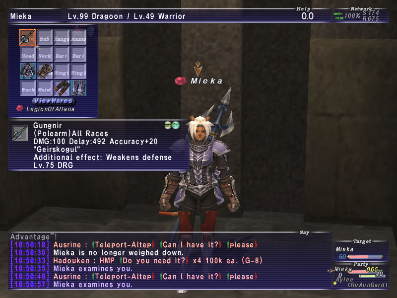 aylee ffxi doing this that comes love down proph also caliburn grats tool shame like prophett moirai leviathan list relicmythic weapons seems completed known time long forever