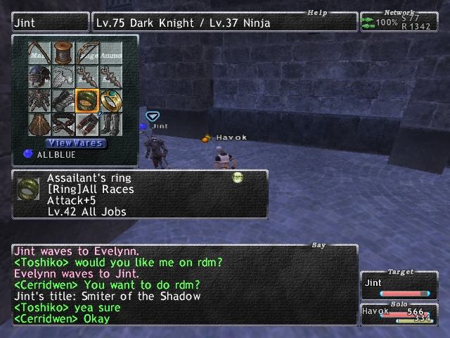 havok ffxi gimp or confused or wtf player thread xix sooner started apologies visit xvii fresssssssshhhh slow media good previous clean fight give shits gimpconfusedwtf campaign town gear allowed