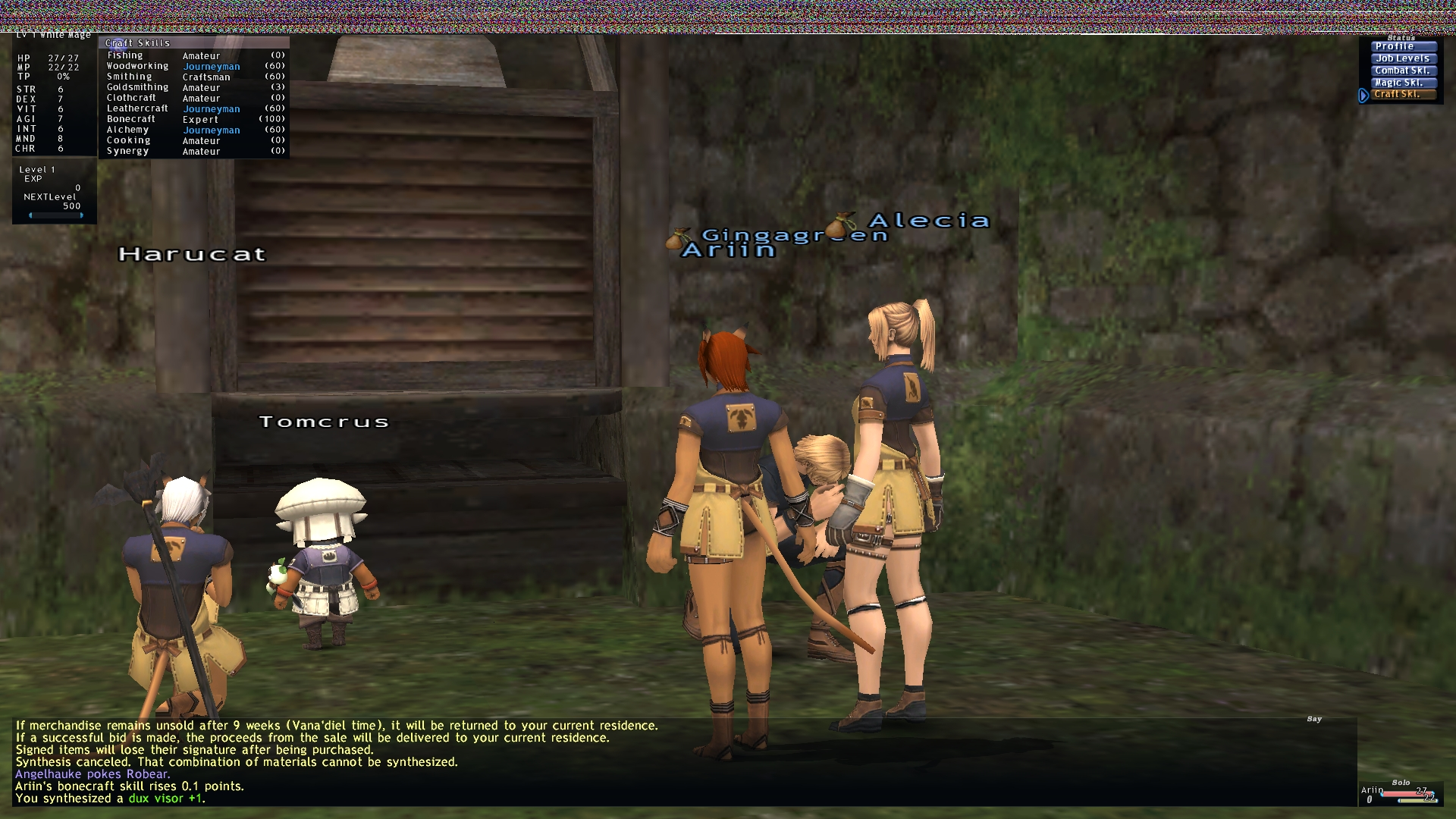 funkworkz ffxi very time long first zouri crafts accidently forum crafting whole amazing