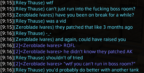 seravi edalborez ffxiv they duty that fail right unless enter away going gear chests some months raid when until anyway month feel like doesnt argument type replace still every give fucking time likely youre have which much since just been even released major something i340 hasnt this weight changes early into last tier