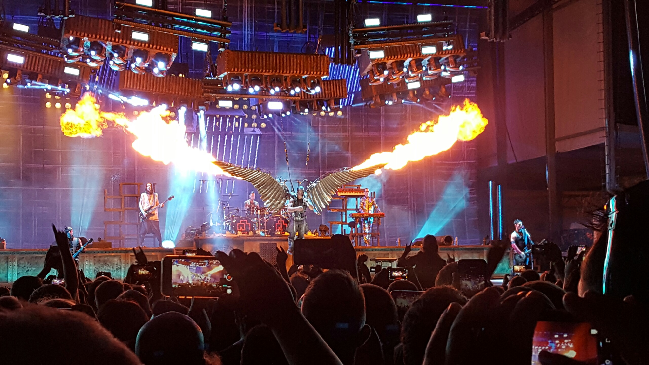 rammstein blew away chicago open air this weekend literally chicago