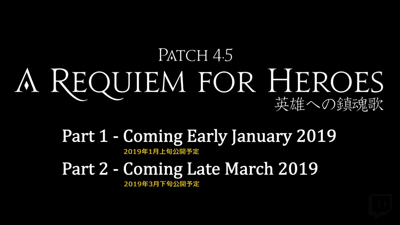 Patch 4 5: A Requiem for Heroes