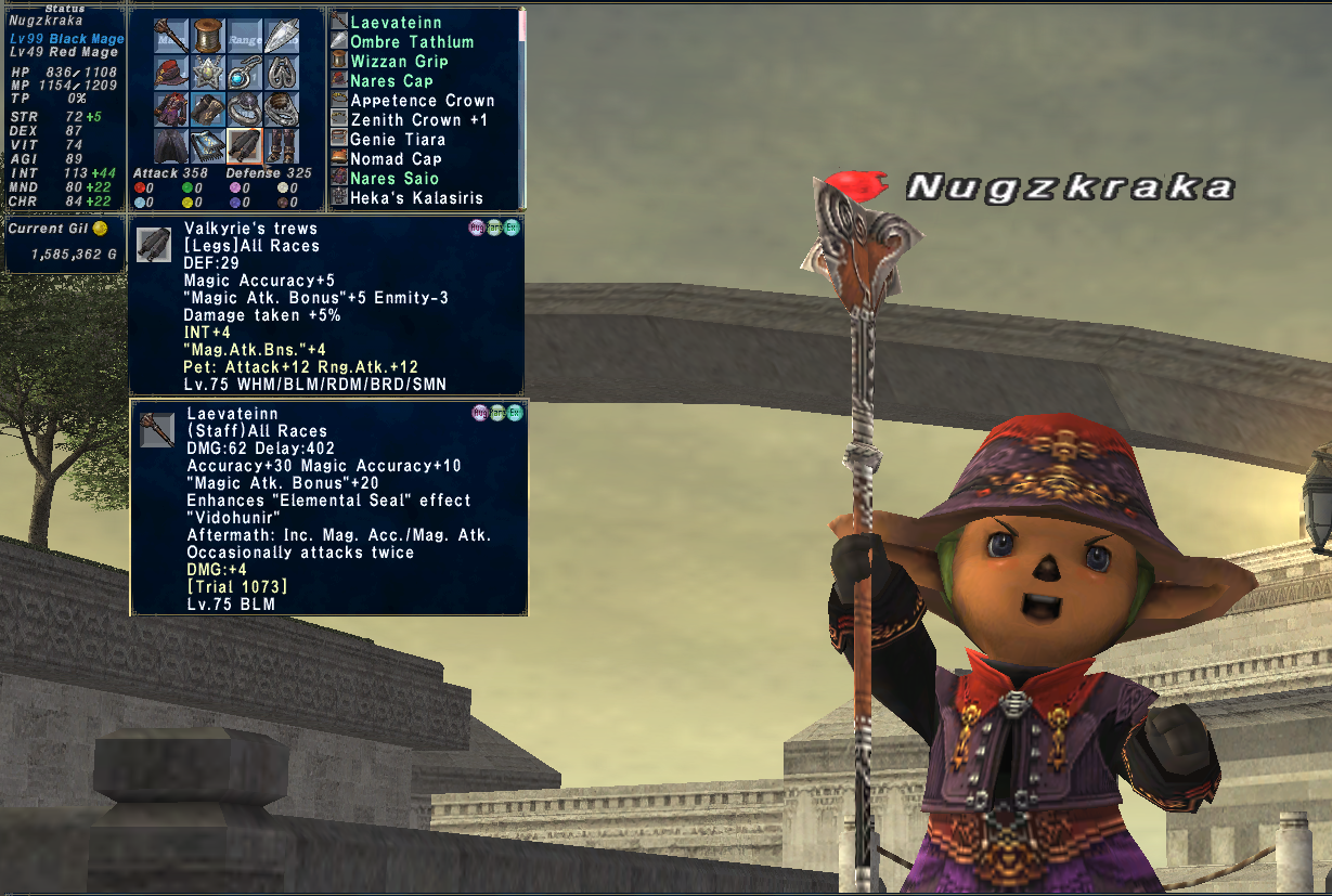 nugzkraka ffxi doing this that comes love down proph also caliburn grats tool shame like prophett moirai leviathan list relicmythic weapons seems completed known time long forever
