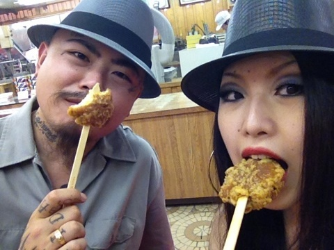 omniyoji  ganguro take girl over anyday that actually watched video abandon funny