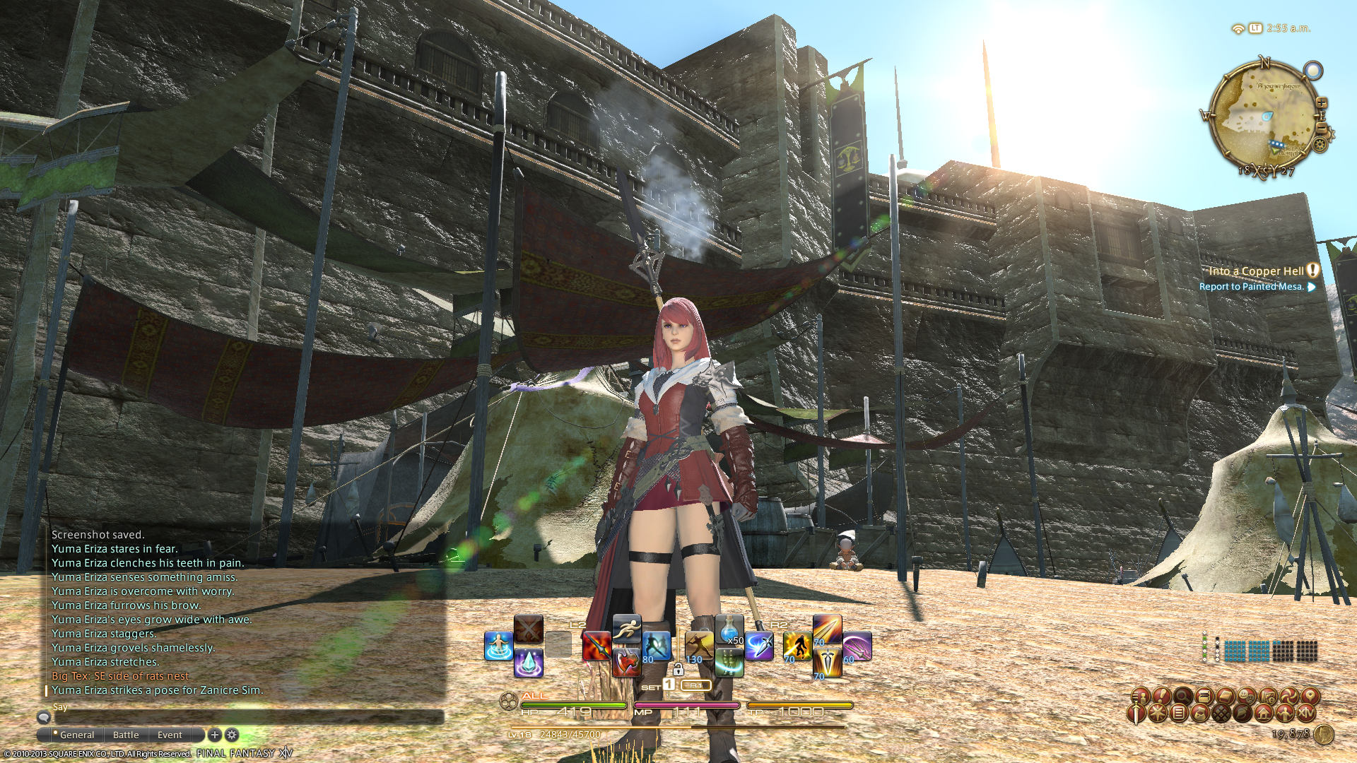 mabubeezareel ffxiv limsa through tonight well screenshots lifted phase beta