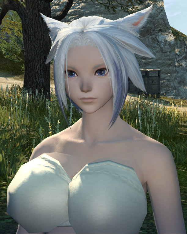 ragns ffxiv this hair ffxi character like color what green more help pinkish look akin cause laughing stop cannot eyesmouth expression website official best here found also actually match recreating grown accustomed quite personally pictures your benchmark going heres style just char post slightly darker edit2 pinkredish miqote oppai