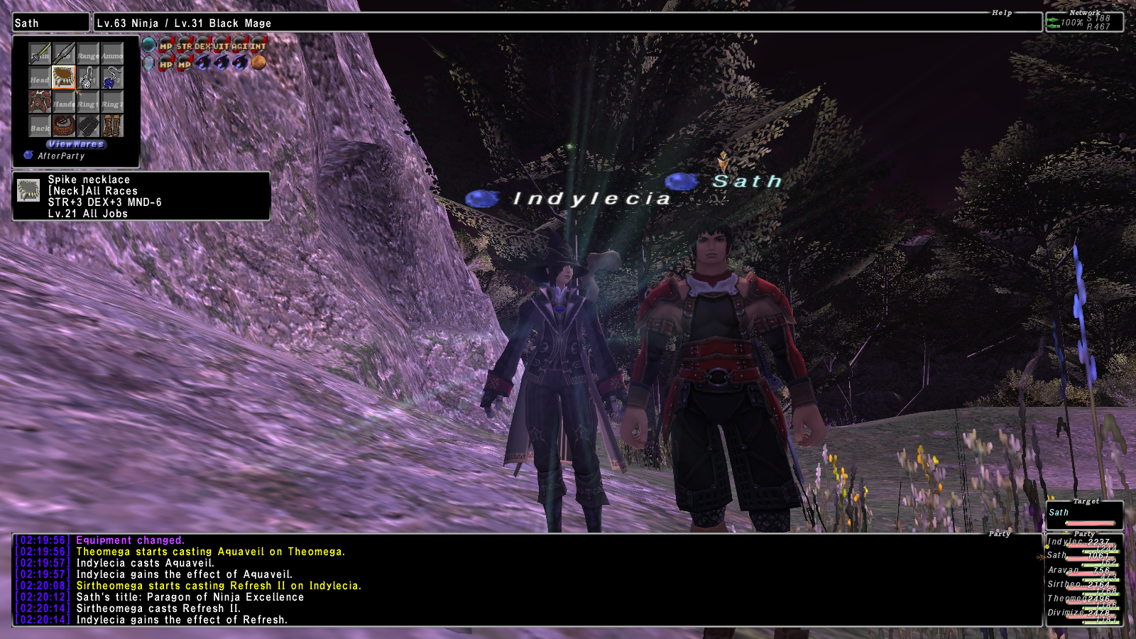 indalecia ffxi gear lv78 wear stand cares leech dolls xxii thread literally player make pics renzys gimpleeches long taking shots screen point fast killing presuming lv90s contribute mobs gonna vtit listed mooch damage contribution tier this play gimpconfusedwtf contributions