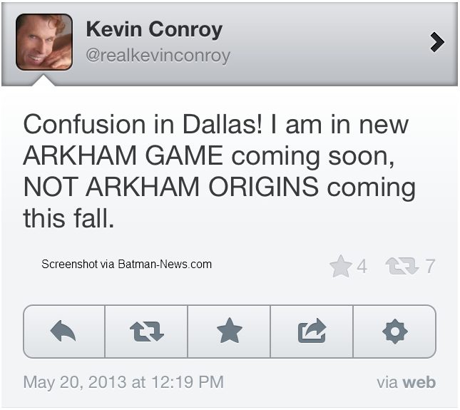 6souls games arkham said game been origins kevin under still find conroy least wraps that while might next-gen works there working thats city next obviously backhe theyve xbox playstation october 2013 ever about anything what batman doing havent they steady rock didnt make this post twats