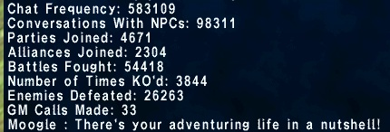shirai ffxi exping times somewhere works those stats appreciation adventurer thought ring grab 2012