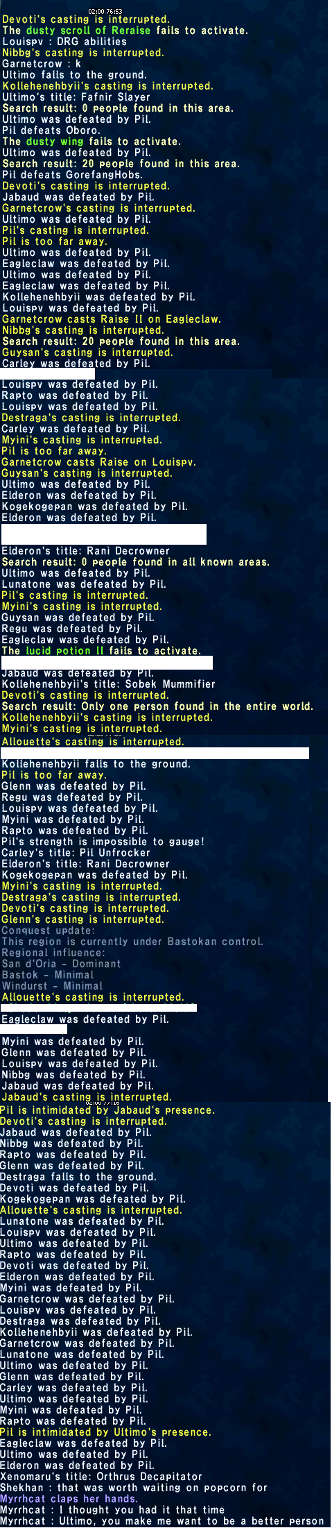 myrrh_quetz ffxi fail from ffxiah randomly this spotted thought screenshot pretty before fucking last xiii time talling posted sure random