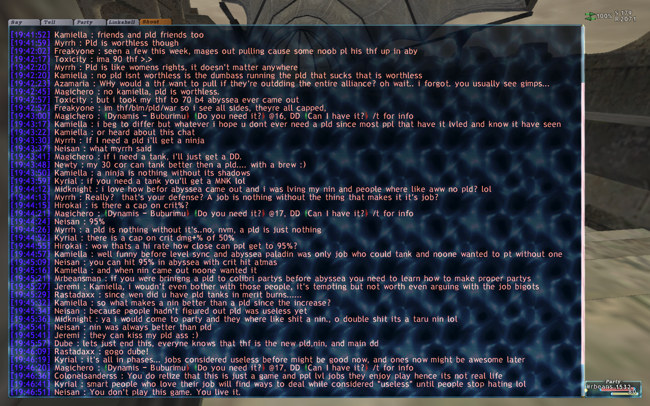 mrbeansman ffxi brew kiting party earth eventually atma apoc times dying starts crusher mins 4ws death seconds wearing lolfullperlewarwithlv30skill kills finally damage shit absolute ittank shot earlier attacks watch heals dies rani altep fail fastest exping backstory rest wipe instant random popped continues kill decides alliance claim free