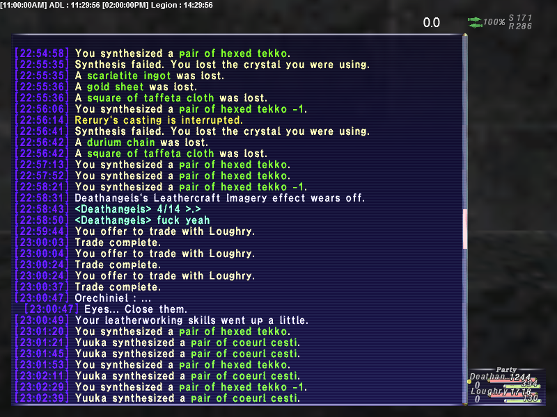 loughry ffxi time possible three plan that accurate remains crafts skillup listed zouri trade first doing analysis them level crafter kits crystal synthesis only lv88 exactly points sadly forum single idea same traded next crafting anything else amazing find rolls around whole accidently required