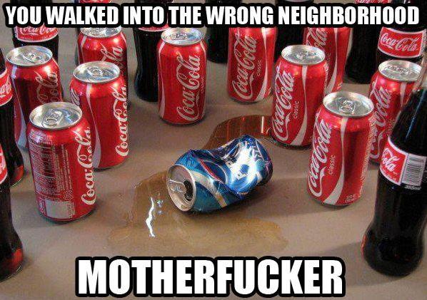 rhyis  come truth this thread epic pepsi mega showdown glad special coke