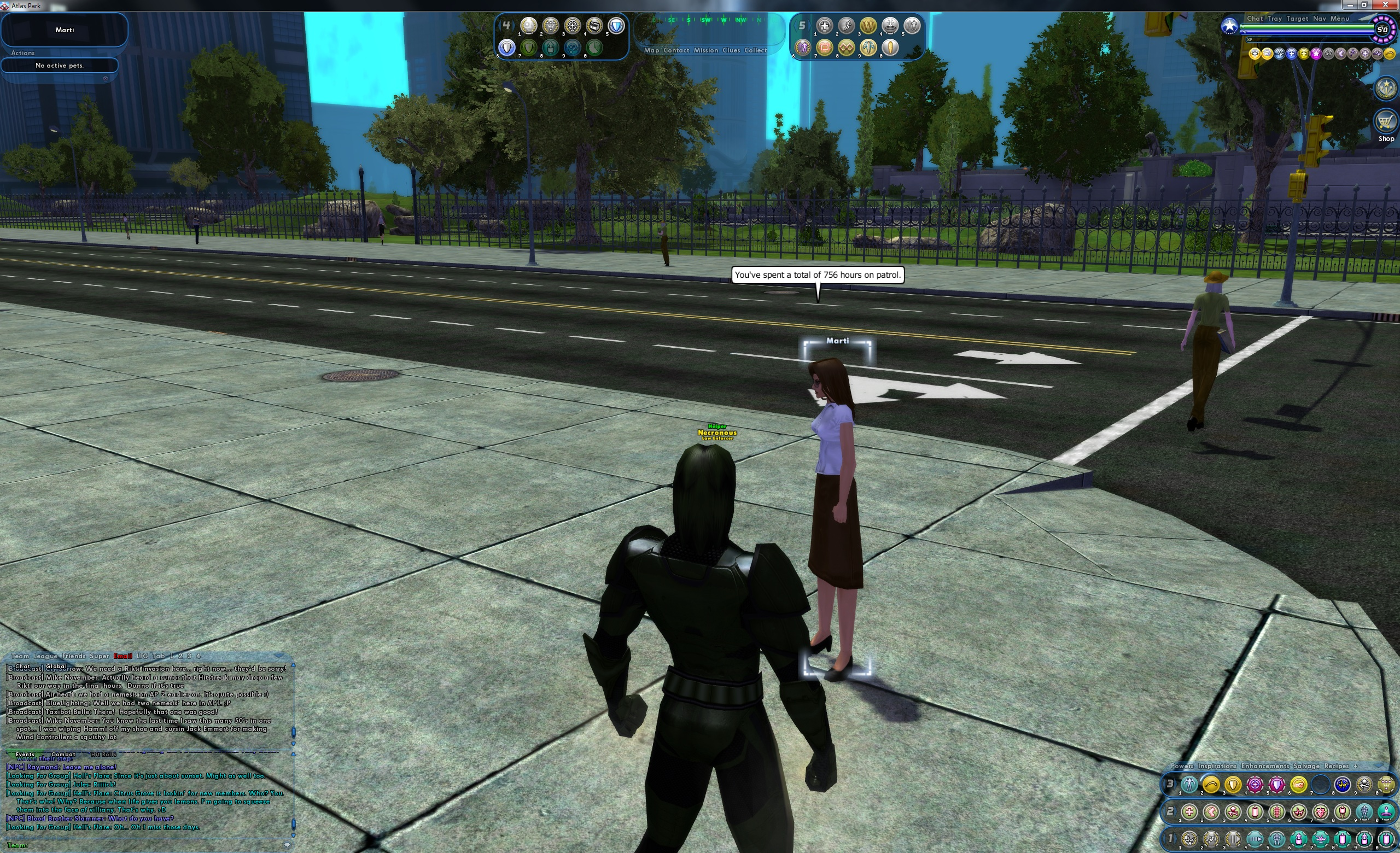 necronus games playtime posted 80-90 memoriam char main death well tonight city heroes