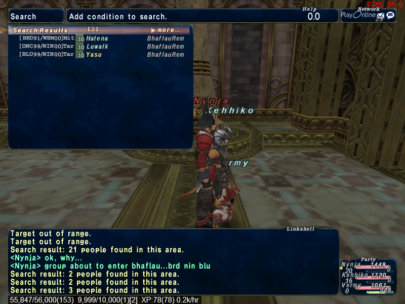nynja ffxi fail from ffxiah randomly this spotted thought screenshot pretty before fucking last xiii time talling posted sure random