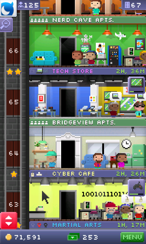 howie roary  floor tiny tower latest remember nerd caves perm