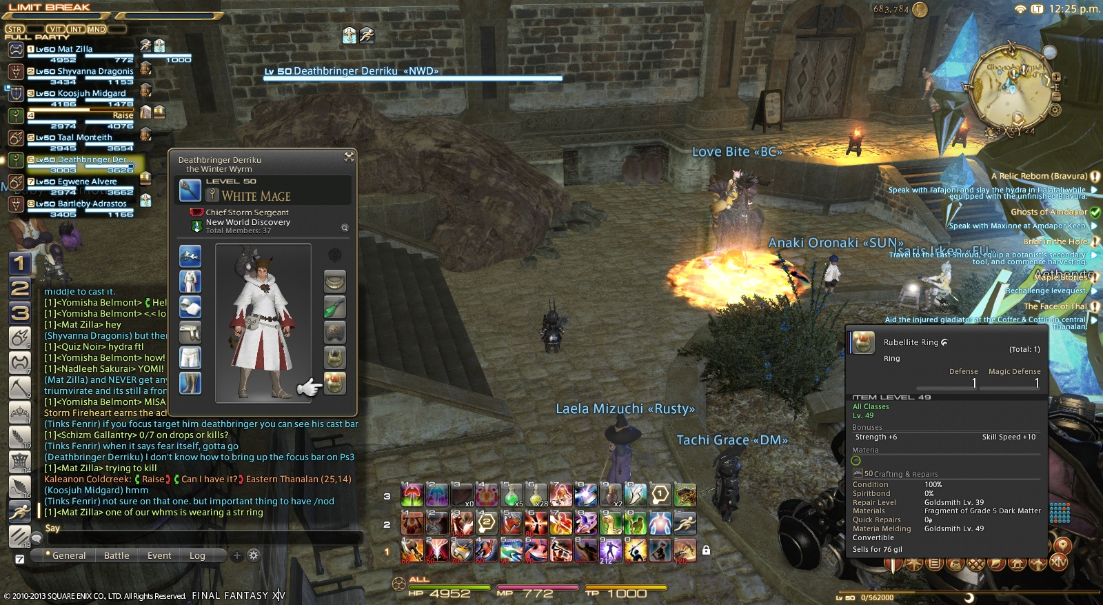 fondue ffxiv slots upgrade same probably comparable cost myth with information reborn relic1 because king weapon relic
