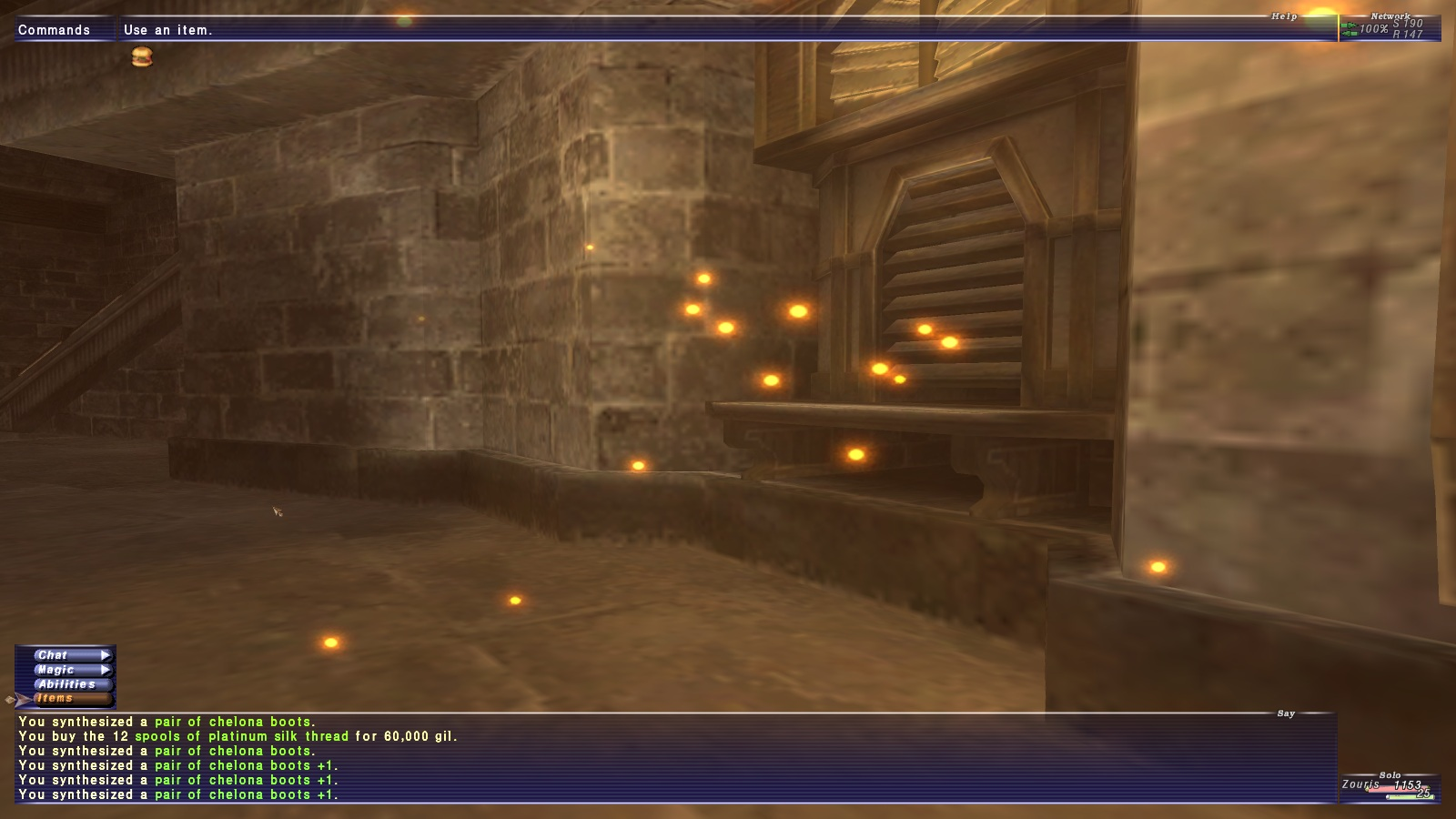 zouri ffxi very time long first crafts accidently forum crafting whole amazing