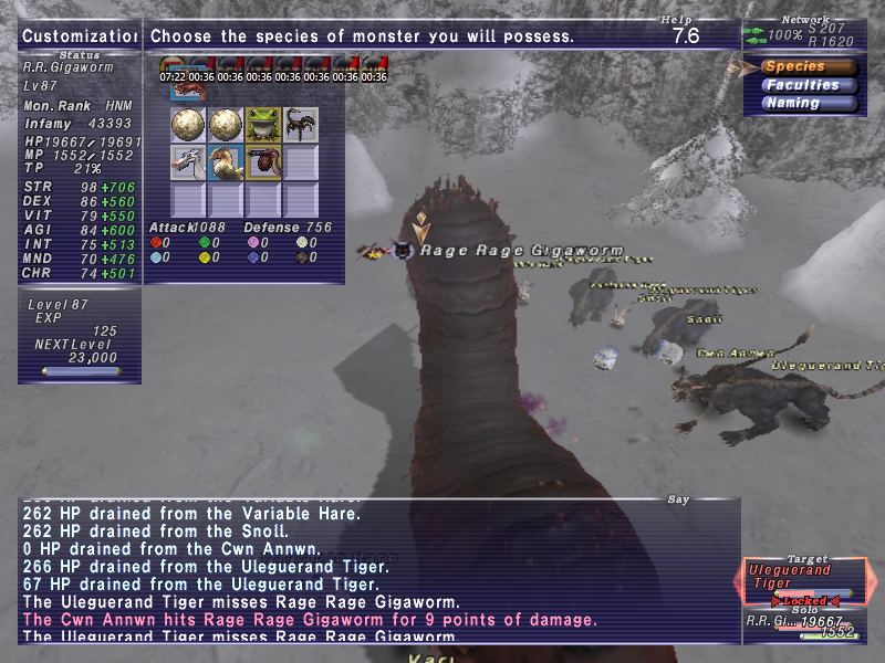 dasva ffxi bonus have weakness does physically evasive both though magically highly seem pool their heel achilles minuscule poison full damage considering them drains instincts since last tested months something changed general abilities mechanics unless metal applied monstrosity defense 400 slime attack immune