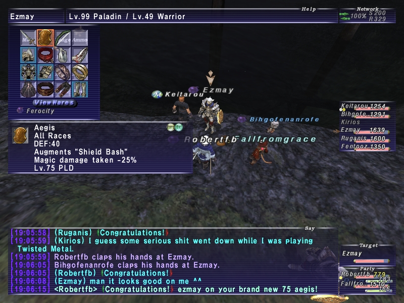 robertfb ffxi doing this that comes love down proph also caliburn grats tool shame like prophett moirai leviathan list relicmythic weapons seems completed known time long forever