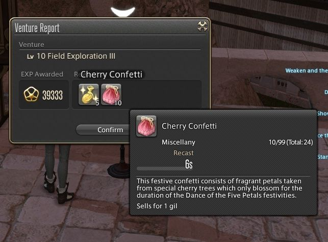 eldelphia ffxiv retainer continues long lost death upon compendium useful pugs out-dps sanction will never