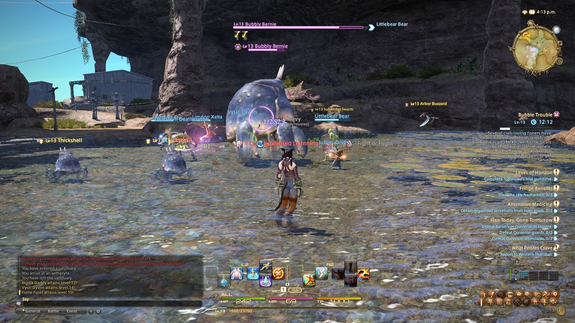 kachiko ffxiv limsa through tonight well screenshots lifted phase beta