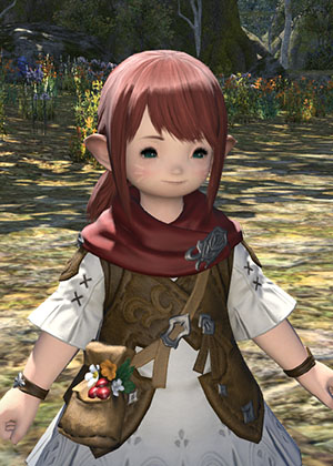 skai ffxiv this hair ffxi character like color what green more help pinkish look akin cause laughing stop cannot eyesmouth expression website official best here found also actually match recreating grown accustomed quite personally pictures your benchmark going heres style just char post slightly darker edit2 pinkredish