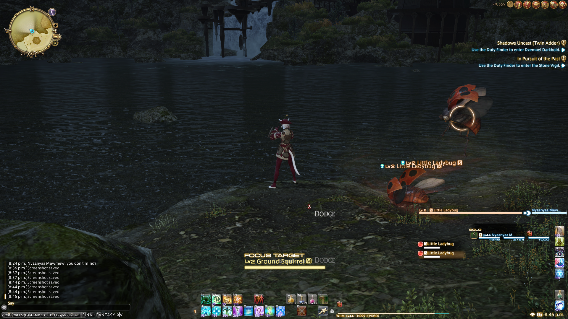 nyaanyaa_midgardsormr ffxiv make petbar command toggle your visibility pictures remember anyone post know