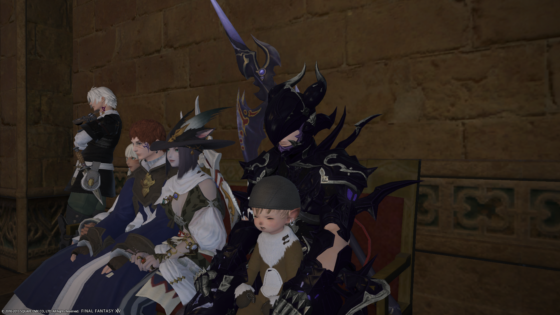 solracht ffxiv limsa through tonight well screenshots lifted phase beta