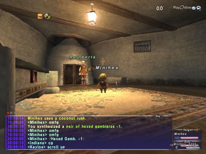 minihex ffxi very time long first zouri crafts accidently forum crafting whole amazing