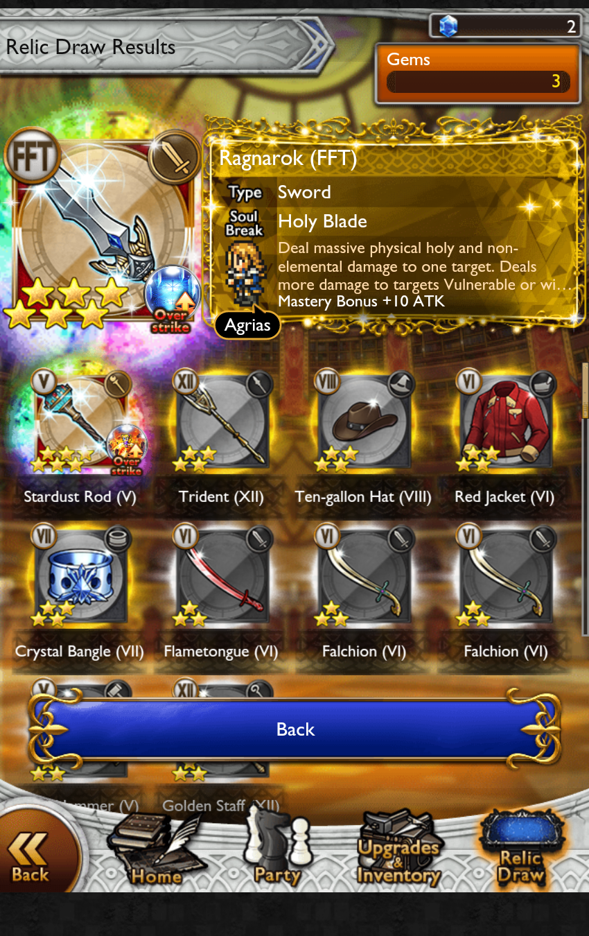 robertfb games worst might lucky draw ever dupe rata thread dorp gets ysayle 111 wish ffrk