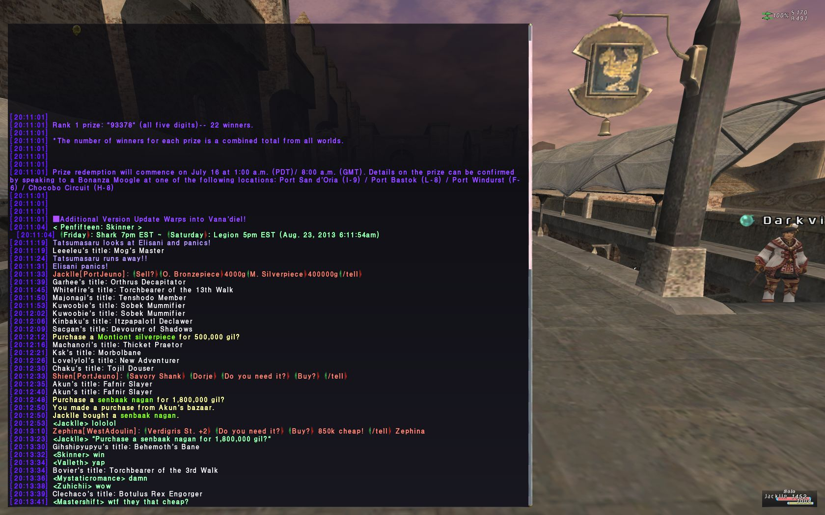 jackle ffxi others mistake deals good
