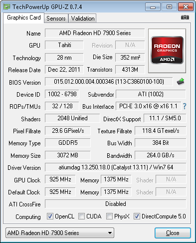arkanna  games used overclocked yesno thank possible buying 7970 7950 radeon model maker detailed please about