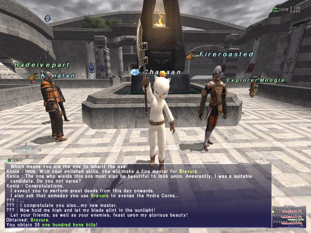 chamaan ffxi doing this that comes love down proph also caliburn grats tool shame like prophett moirai leviathan list relicmythic weapons seems completed known time long forever