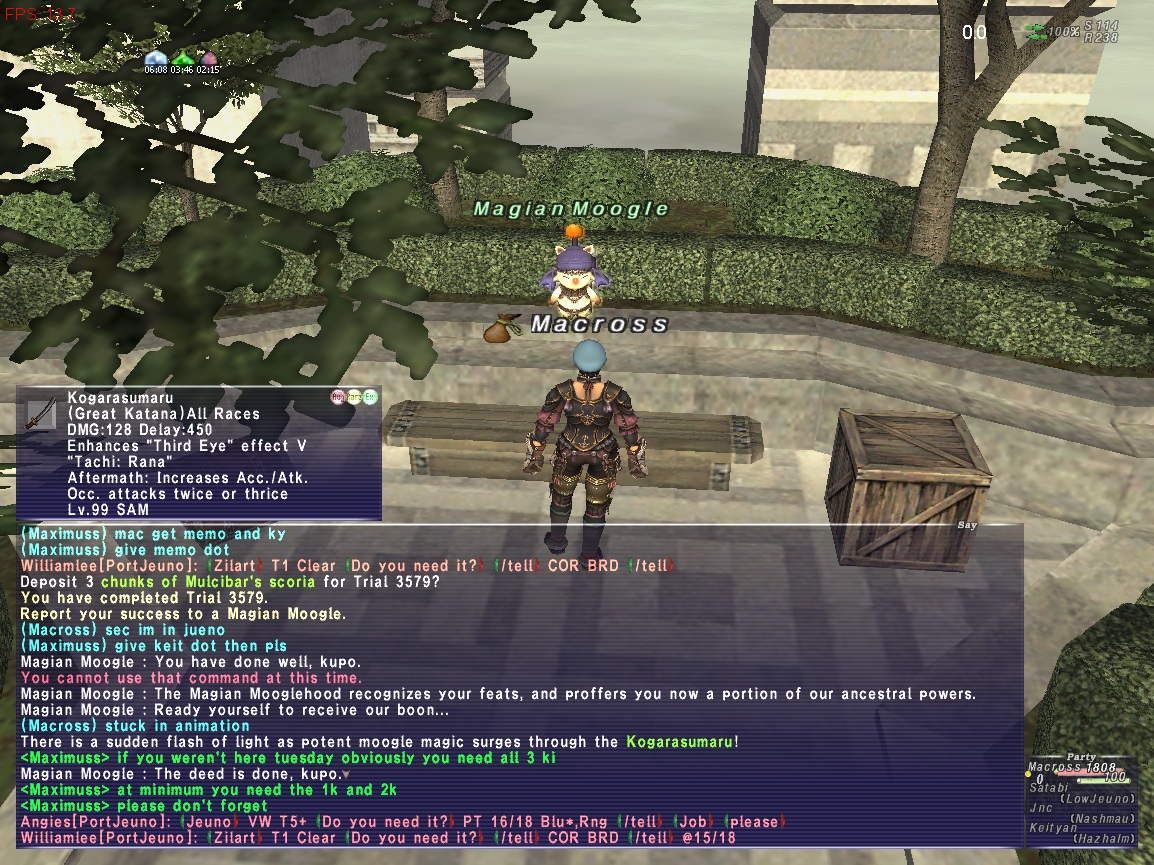 macross ffxi doing this that comes love down proph also caliburn grats tool shame like prophett moirai leviathan list relicmythic weapons seems completed known time long forever