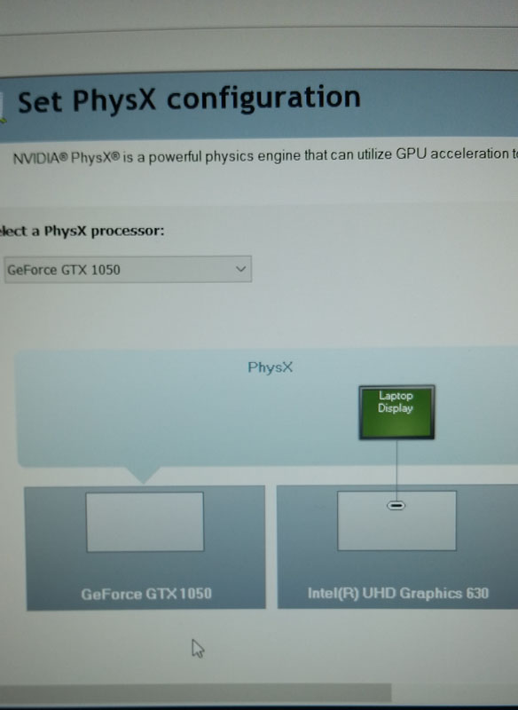 Laptop integrated gfx vs nvidia and setting default
