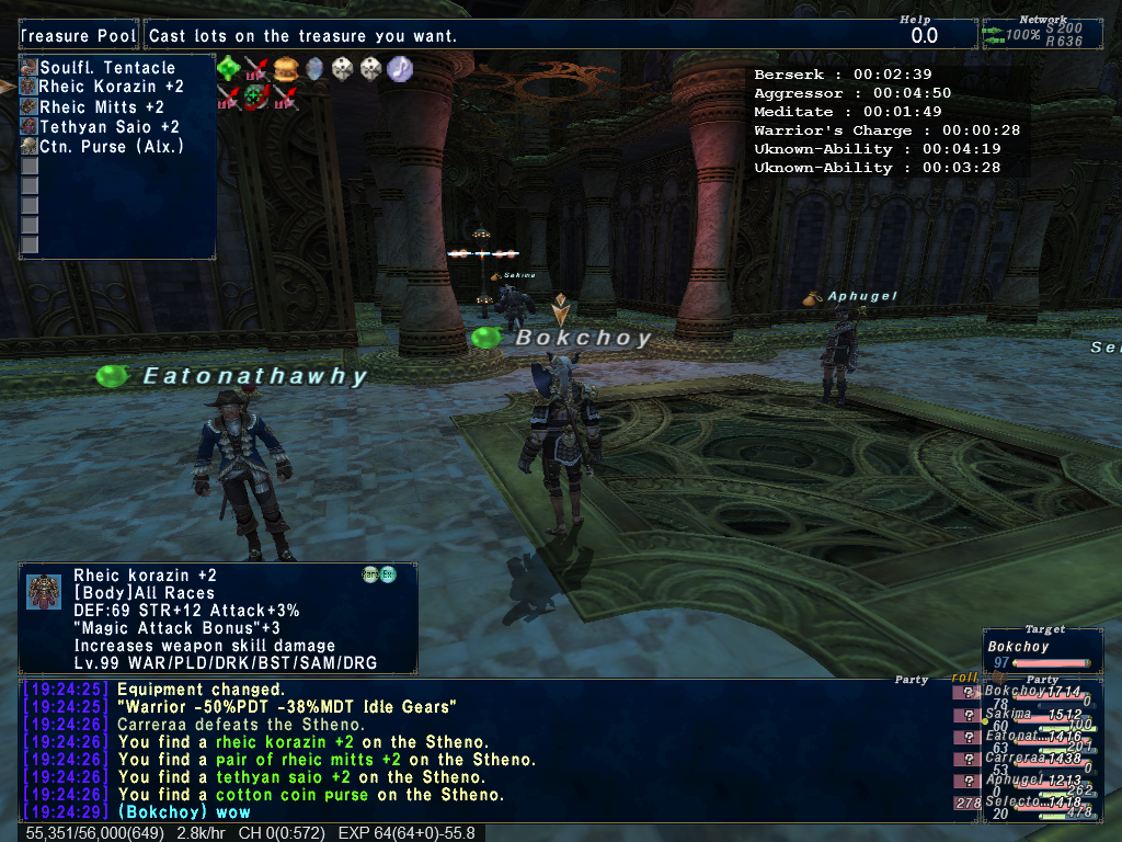 bokchoyy ffxi more makes kill-all floors bloodbath luck cleaving with might have been before they than joke even next find continue nyzul isle will pack definitely help better gear mitigate