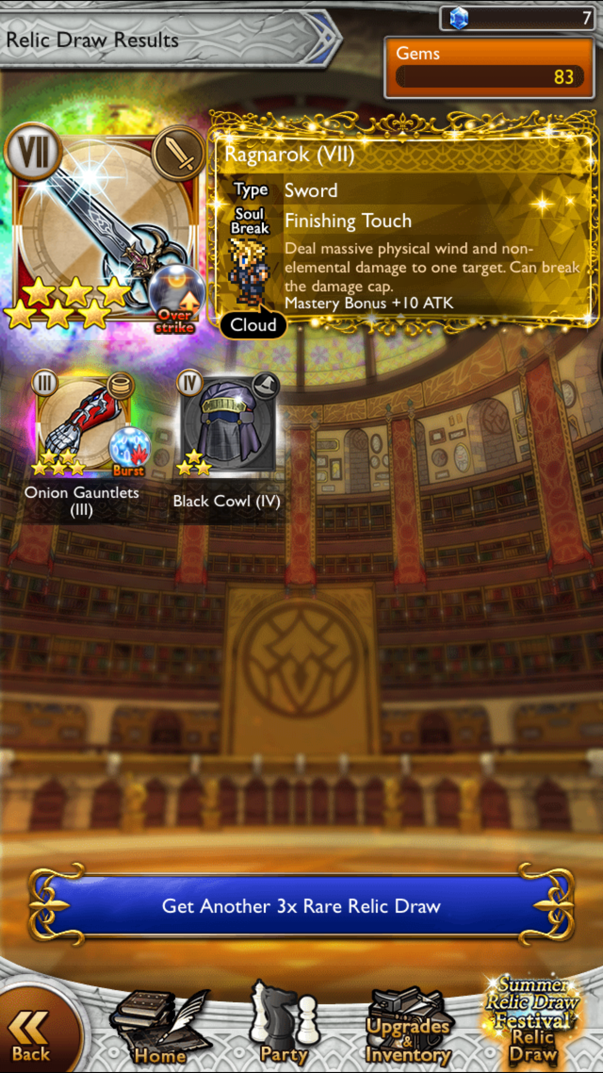 karbuncle games worst might lucky draw ever dupe rata thread dorp gets ysayle 111 wish ffrk
