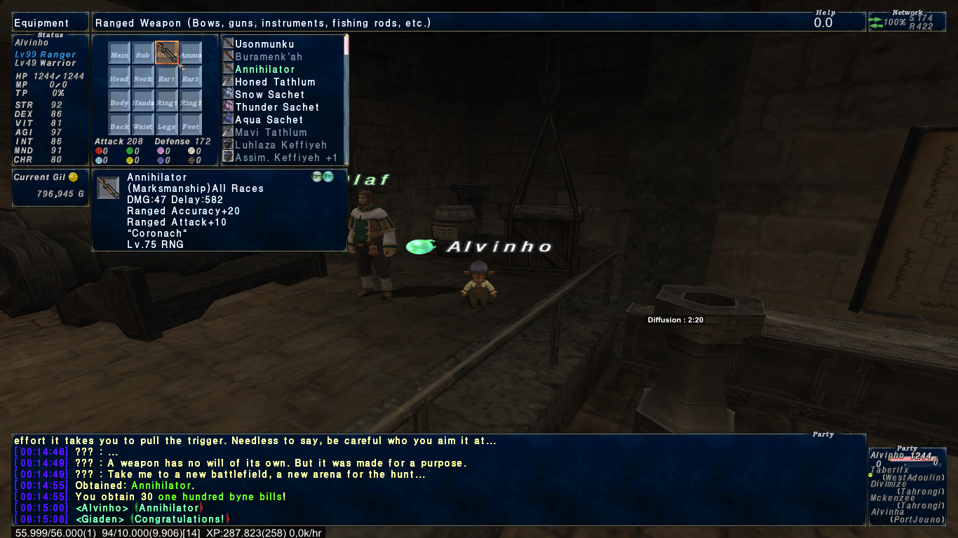alvinho ffxi doing this that comes love down proph also caliburn grats tool shame like prophett moirai leviathan list relicmythic weapons seems completed known time long forever