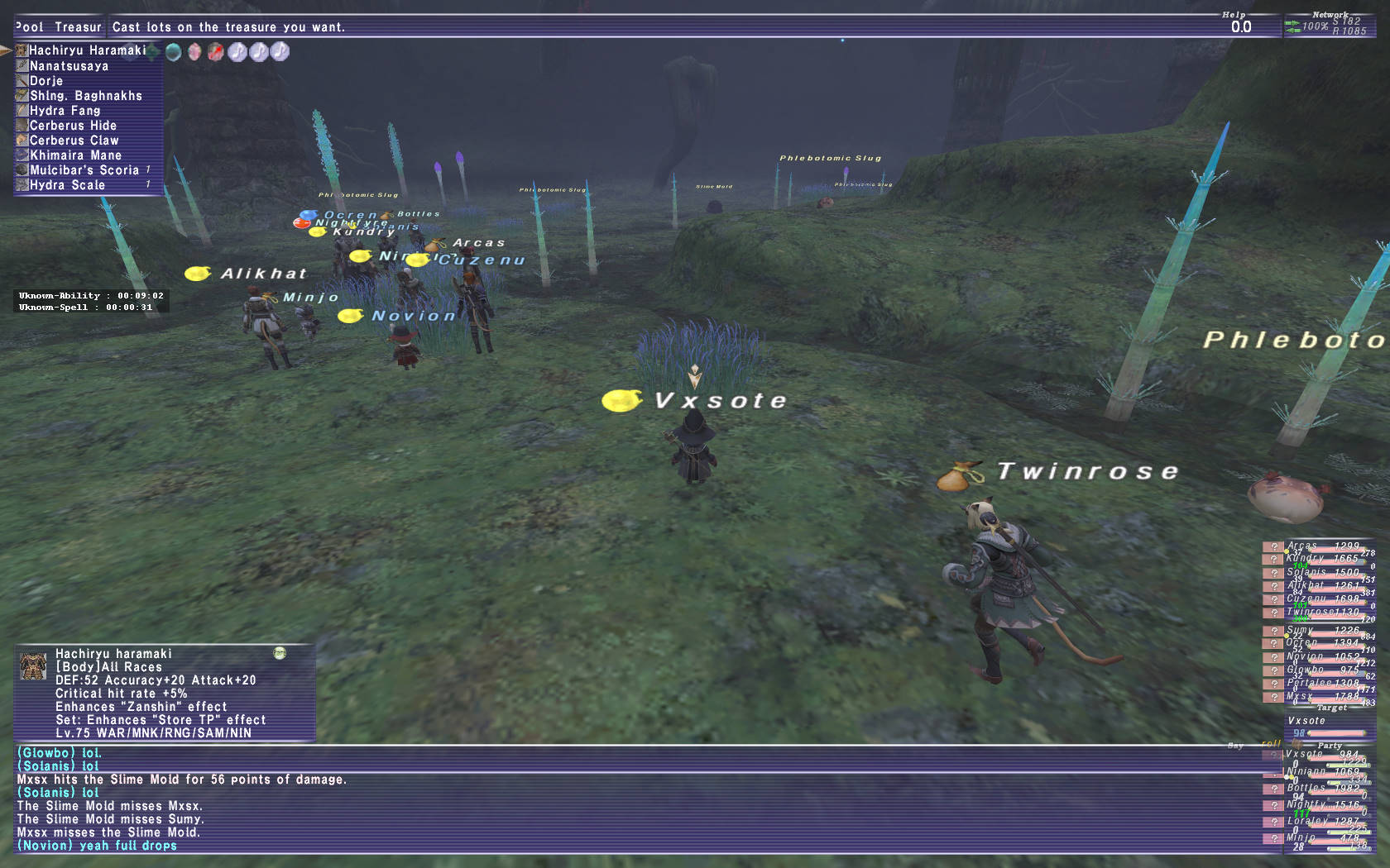 vxsote ffxi have drop that however seems currency affects correlation only told what going been gear either unless appear does small sample done changes piece killed fair amount rate procs none though they will affect regarding procd mobs neo-dynamis read