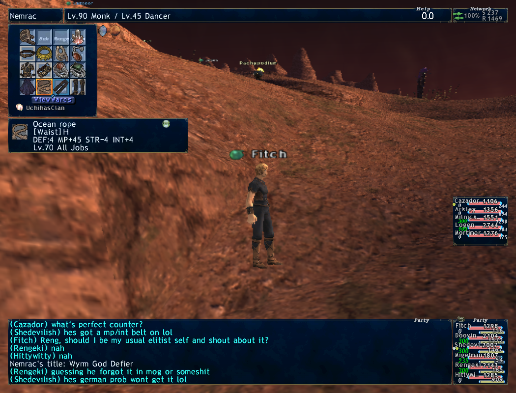 fitch ffxi brew kiting party earth eventually atma apoc times dying starts crusher mins 4ws death seconds wearing lolfullperlewarwithlv30skill kills finally damage shit absolute ittank shot earlier attacks watch heals dies rani altep fail fastest exping backstory rest wipe instant random popped continues kill decides alliance claim free