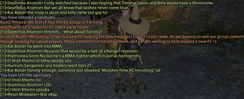 the stig ffxiv spawned which above chat mentioned quotes power rangers random