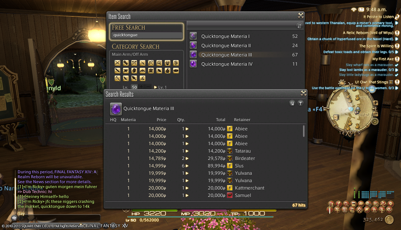 aidencarby ffxiv thread move huge discussion random look forward complaint
