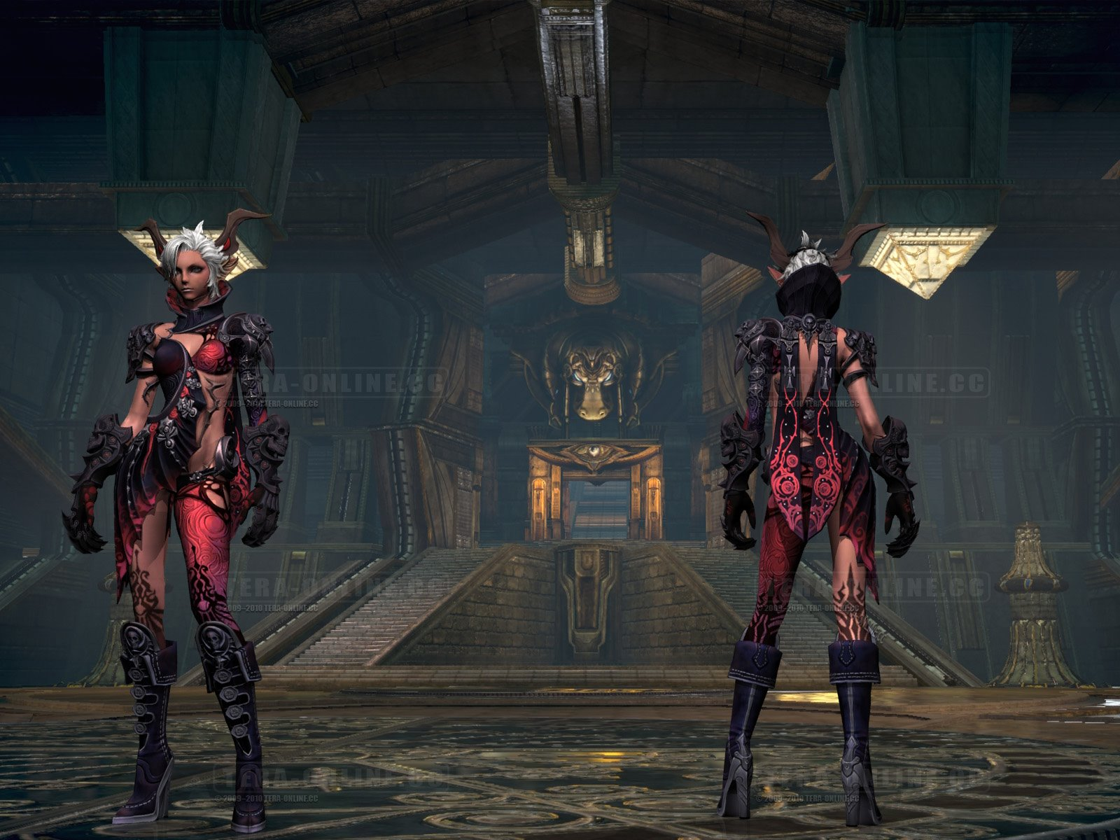 Tera Castanic Female Armor