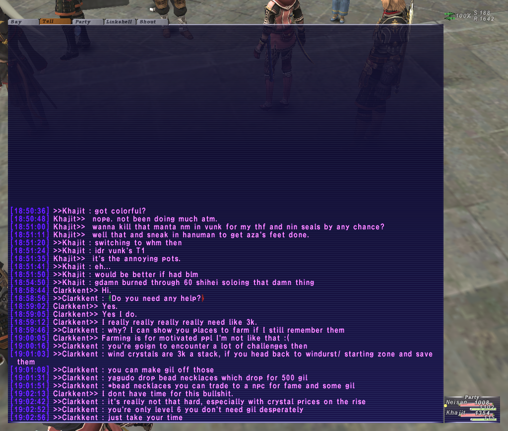 neisan ffxi brew kiting party earth eventually atma apoc times dying starts crusher mins 4ws death seconds wearing lolfullperlewarwithlv30skill kills finally damage shit absolute ittank shot earlier attacks watch heals dies rani altep fail fastest exping backstory rest wipe instant random popped continues kill decides alliance claim free finalfantasyxixiv